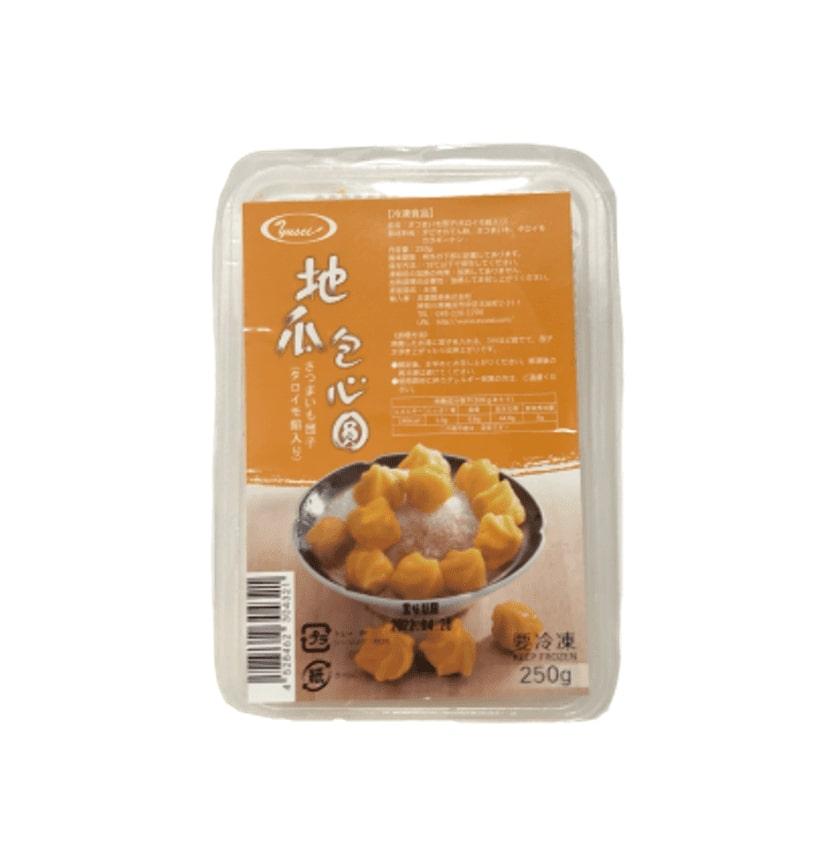 台湾サツマイモ団子タロイモ餡(地瓜包心圓)
