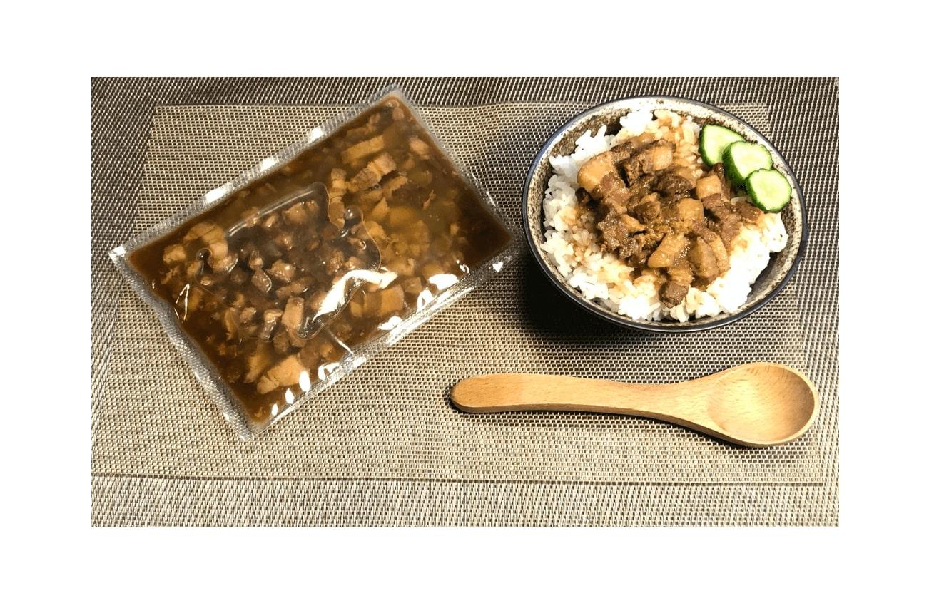 台湾名物ルーロー飯(魯肉飯)