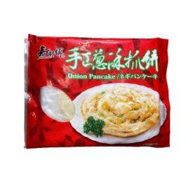 台湾手作りネギパンケーキ(蔥抓餅)