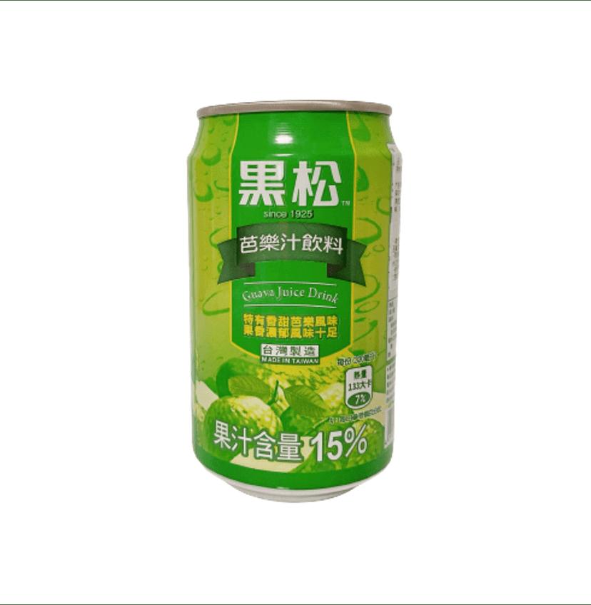 台湾グアバジュース(黑松芭樂汁)