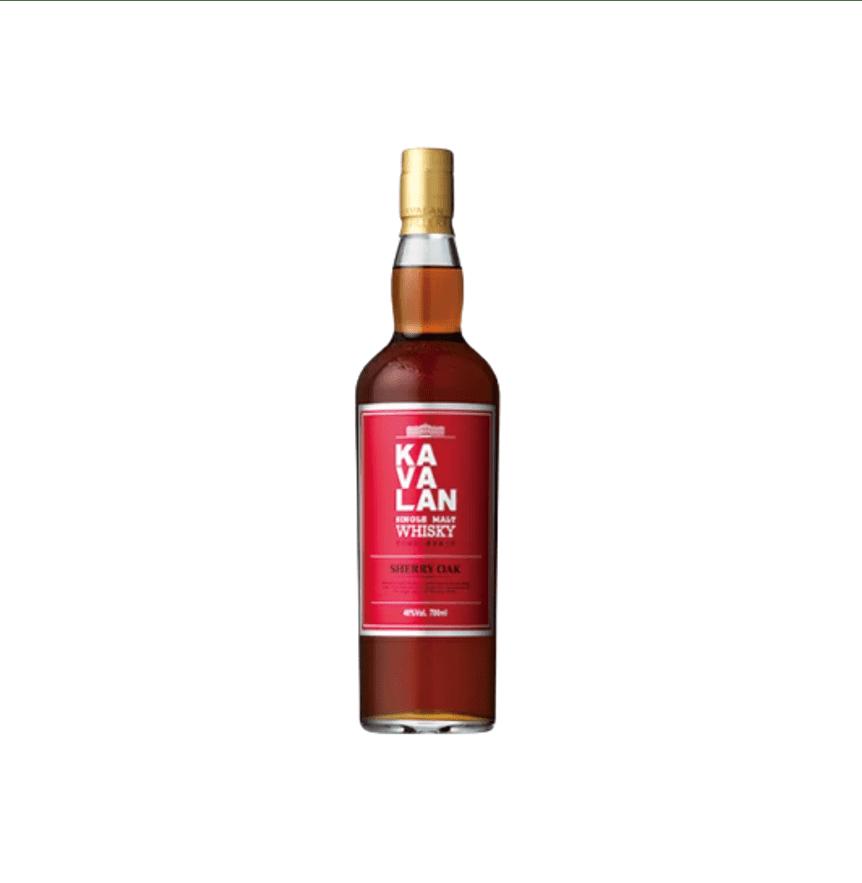 カバラン シェリーオーク(噶瑪蘭雪莉桶單一麥芽威士忌)