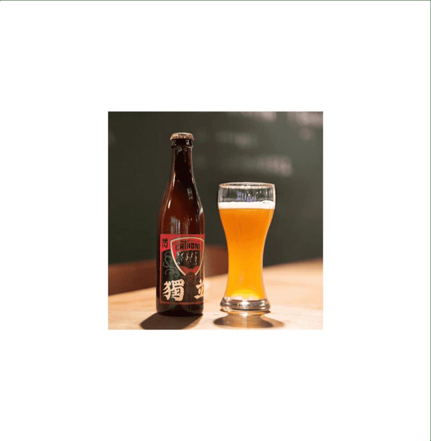 北台灣麥酒 独立ビール(獨立啤酒)(24瓶/箱)