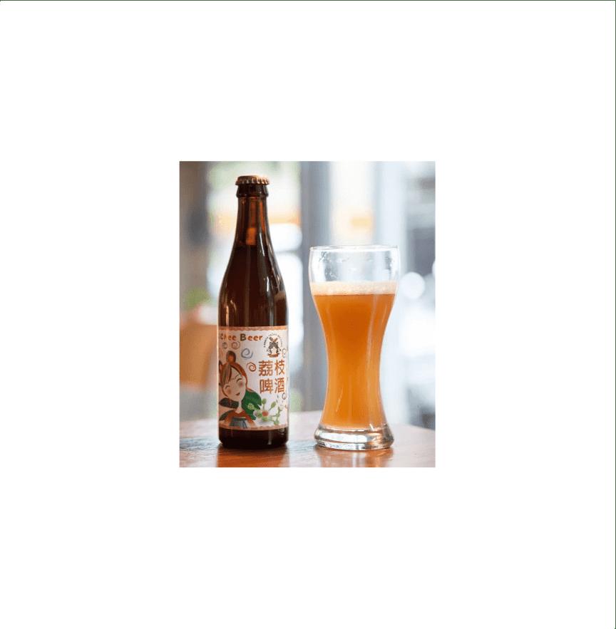 北台灣麥酒 ライチビール(荔枝啤酒)(24瓶/箱)