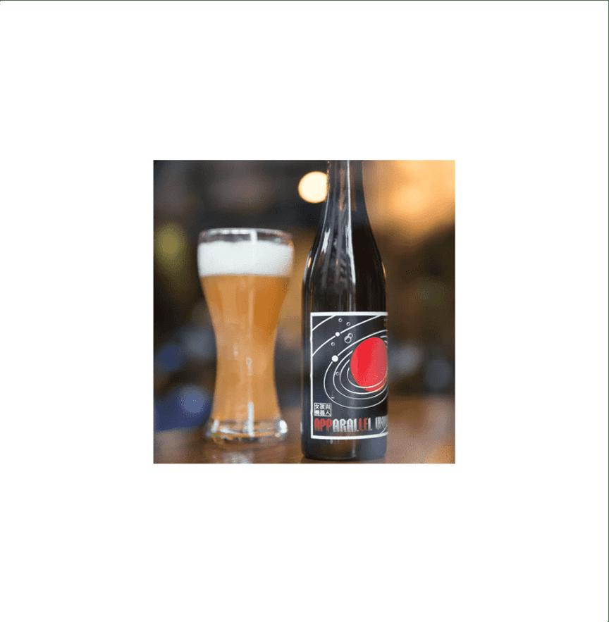 北台灣麥酒 リンゴビール(蘋行宇宙)(24瓶/箱)