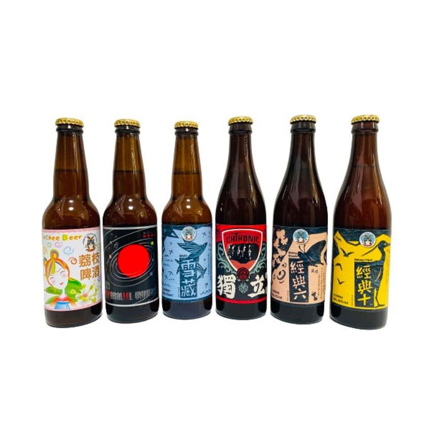 北台灣麥酒 バラエティセット(6種24本)